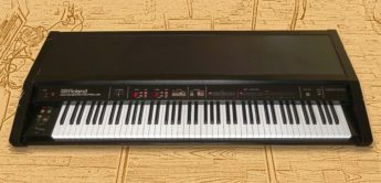 Roland MKB-1000: Masterkeyboard Dinosaurier, 1985