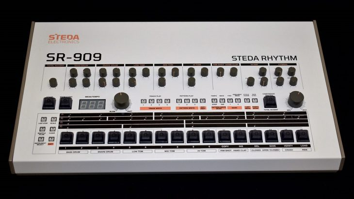steda electronics sr-909 diy drum machine