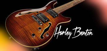 E-Gitarre Test: Harley Benton CST-24HB Tortoise Flame