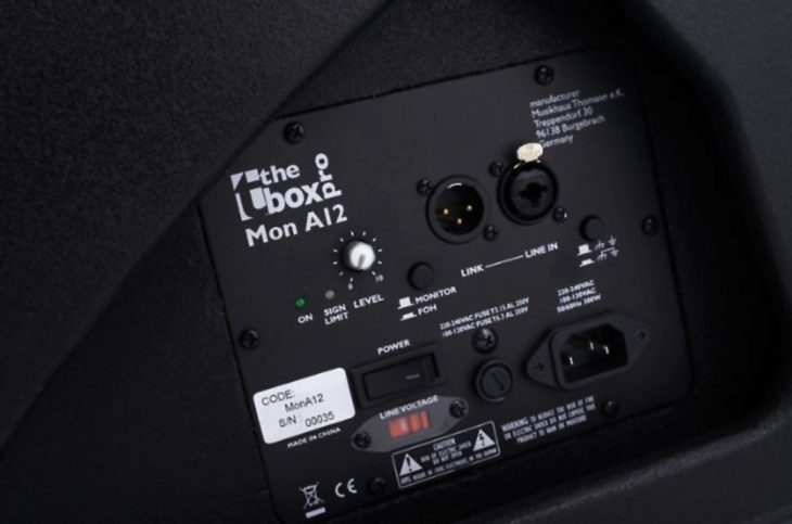 Test: the box pro Mon A12 Bühnenmonitor Test: the box pro Mon A12 Bühnenmonitor Test: the box pro Mon A12 Bühnenmonitor