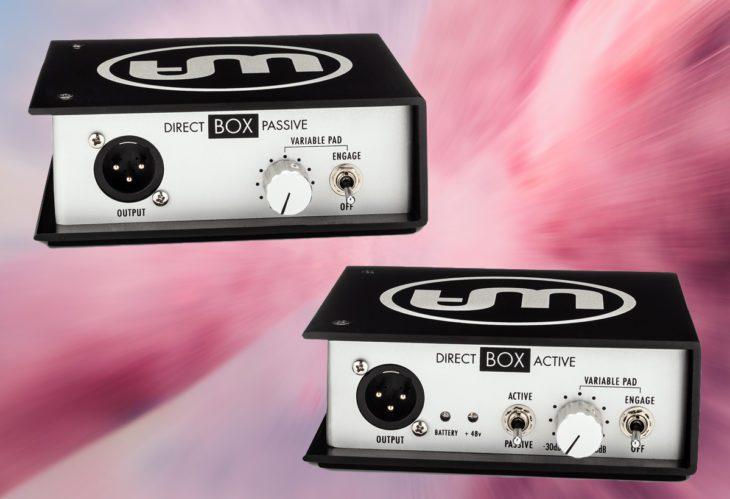 warm audio wa di box passive active WA-DI-A WA-DI-P test