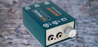 Test: Audiowerkzeug BOOSTi 2, Kopfhörerverstärker