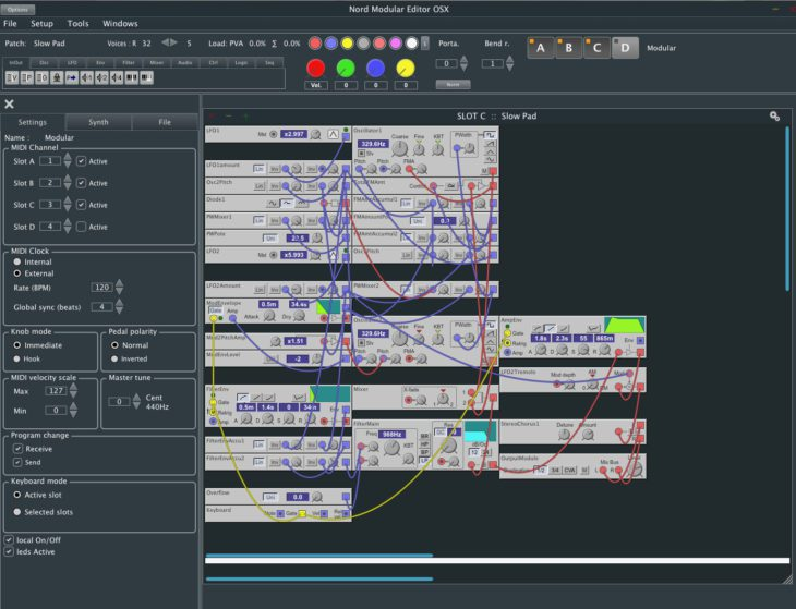 Byte Order, Mac Editor für Clavia Nord Modular