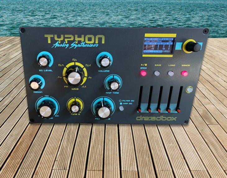Test: Dreadbox Typhon, Analog Synthesizer mit Effekten