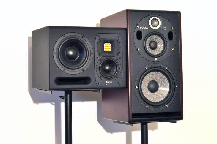 HEDD Type 20, Focal Trio6, Adam S3V