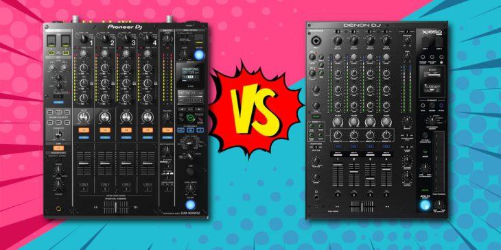 DJM-900NXS2 vs. Denon DJ X1850 Prime