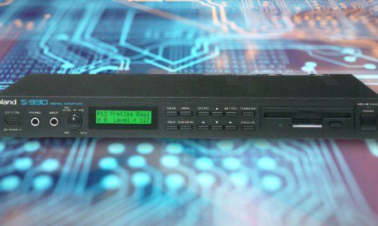 Green Box: Roland S-50, S-550, S-330, S-10 Sampler