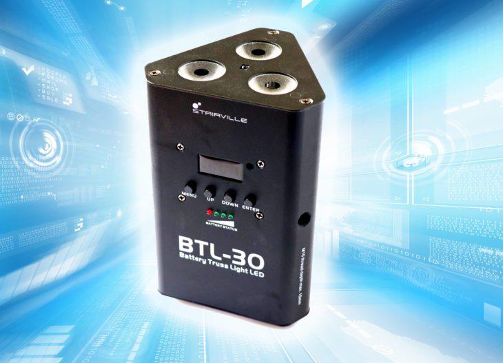 Test: Stairville BTL-30 Battery Truss Light LED Test: Stairville BTL-30 Battery Truss Light LED Test: Stairville BTL-30 Battery Truss Light LED