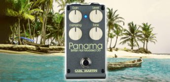 Test: Carl Martin Panama, Overdrive-Pedal