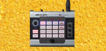 Zooms neuer Vocal Processor V3 bietet Effekte und einen Harmonizer