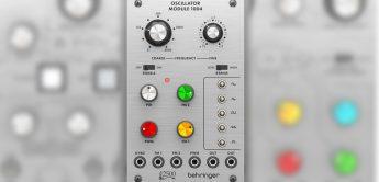 NAMM 2021: Behringer 2500 Oscillator Module 1004 für ARP 2500 Klon