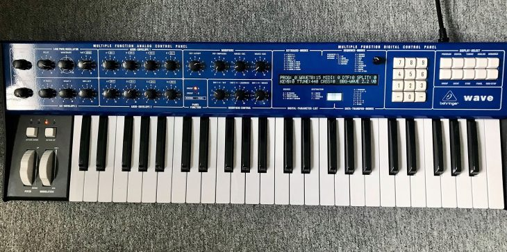 behringer wave synthesizer prototype ppg clone