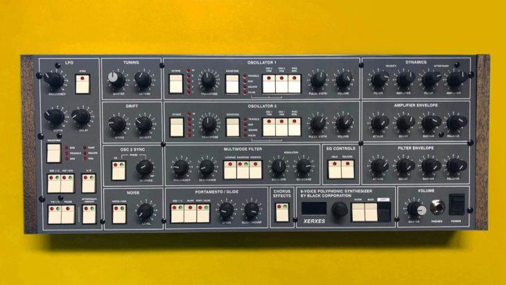 Black Corporation Xerxes, Synthesizer