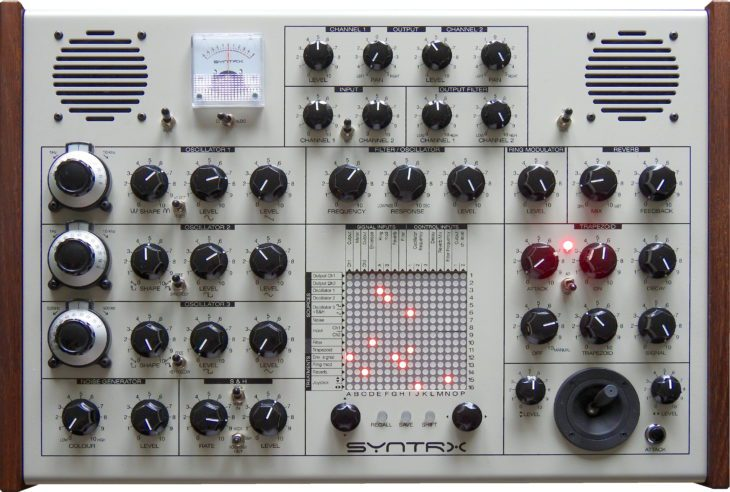 Erica Synths Syntrx, inspired by EMS Synhthi AKS