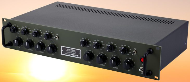 jdk audio r24 equalizer test