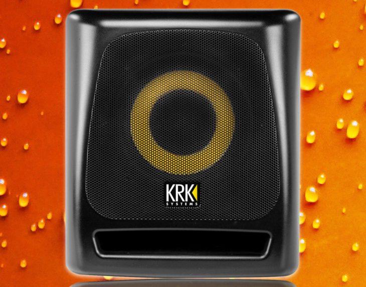 krk 8s2 subwoofer test