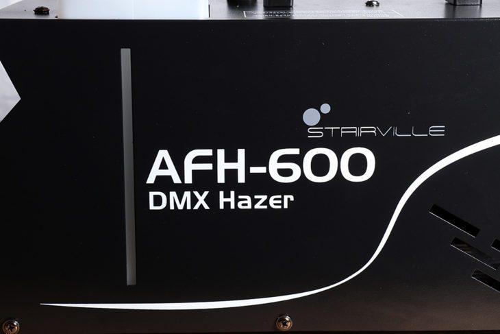 Test: Stairville AFH-600 DMX Hazer Test: Stairville AFH-600 DMX Hazer Test: Stairville AFH-600 DMX Hazer