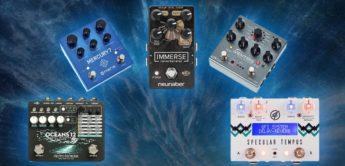 Vergleichstest: Stereo-Reverb-Pedale für Gitarre und Synthesizer