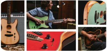 Test: Fender AM Acoustasonic Strat, Akustik-Gitarre