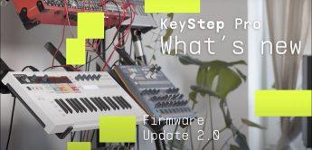 Arturia KeyStep Pro, Firmware-Update 2.0