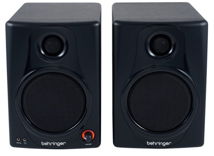 behringer media 40 usb test