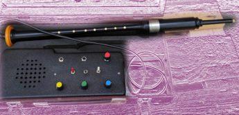 Seltener Dudelsack-Synthesizer mit Blaswandler