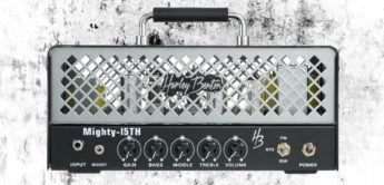 Harley Benton stellt Mighty-15th Amp Head vor