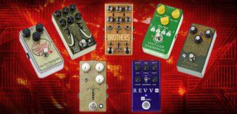 Vergleichstest: Overdrive- und Distortion-Pedale für E-Gitarre