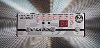 Test: Tech 21 SansAmp PSA 2.0, Gitarren Preamp