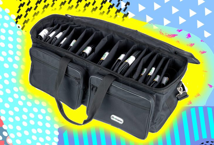 Test: Thomann Cable Bag mit 15 Mikrofonkabeln Test: Thomann Cable Bag mit 15 Mikrofonkabeln Test: Thomann Cable Bag mit 15 Mikrofonkabeln