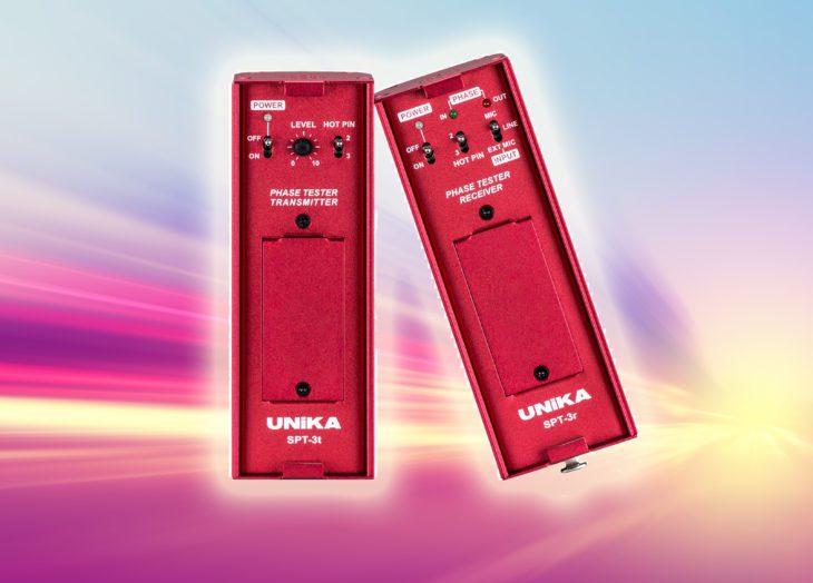 Test: Unika Professional Audio SPT-3rt Phase Tester Test: Unika Professional Audio SPT-3rt Phase Tester Test: Unika Professional Audio SPT-3rt Phase Tester