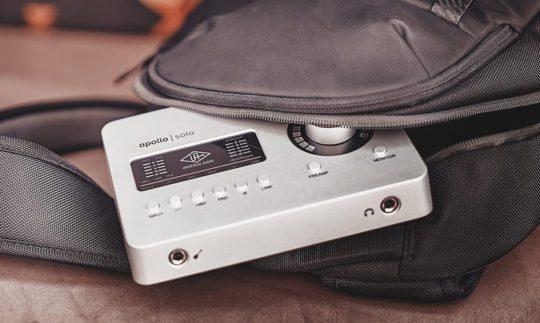 Test: Universal Audio Apollo Solo, Thunderbolt-/USB-Audiointerface