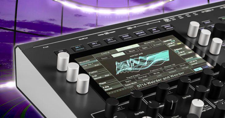 Waldorf IRIDIUM, Desktop-Synthesizer