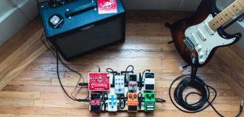 Workshop: Gitarren-Effektpedale richtig verkabeln!