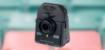 Test: Zoom Q2n-4K, Videokamera für Musiker