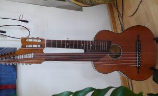 Schrammelgitarre, Contragitarre, Hubert Heerbeck