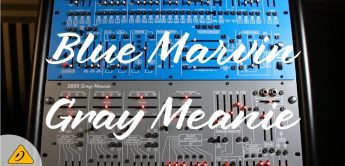 NAMM 2021: Behringer 2600 Blue Marvin & Gray Meanie