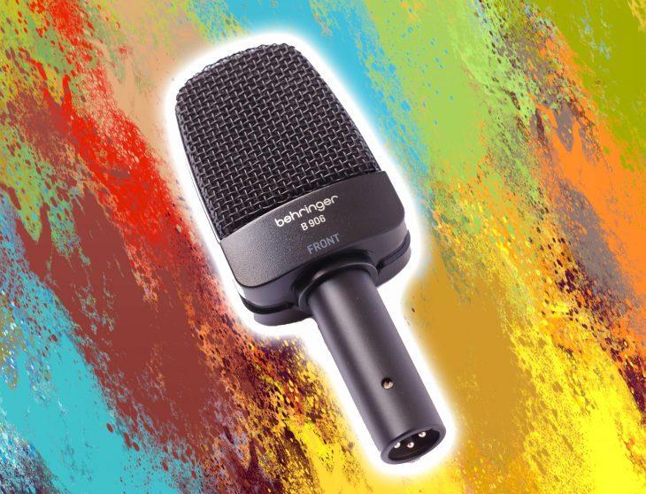 Test: Behringer B 906 dynamisches Mikrofon Test: Behringer B 906 dynamisches Mikrofon Test: Behringer B 906 dynamisches Mikrofon