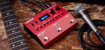 Test: Boss Loopstation RC-500, Looper-Pedal