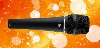 Test: Heil Sound PR37 dynamisches Gesangsmikrofon