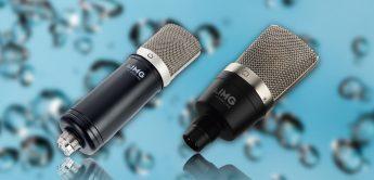 Test: IMG Stageline ECMS-50USB, ECMS-60, Großmembran-Kondensatormikrofone