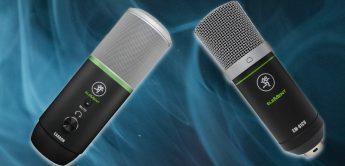 Test: Mackie EM-91CU, EM-Carbon, DB-100, PF-100, USB-Mikrofone