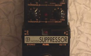 pearl noise suppressor/gate pedal