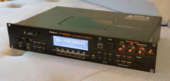Zeitmaschine: Roland VP-9000, Sampler & Variphrase Processor