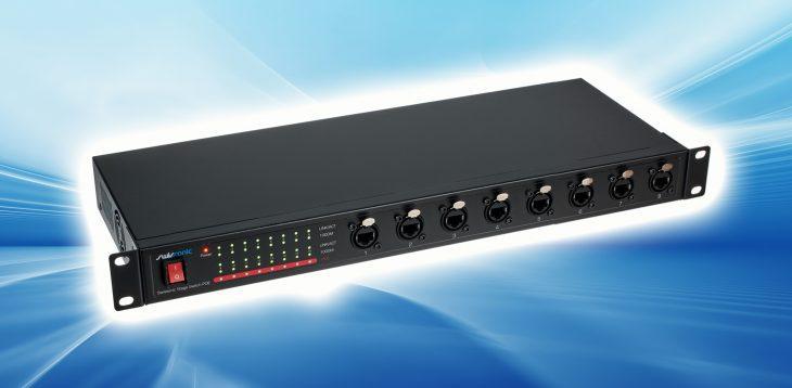 Test: Swissonic Stage Switch PoE Netzwerk-Switch Test: Swissonic Stage Switch PoE Netzwerk-Switch Test: Swissonic Stage Switch PoE Netzwerk-Switch