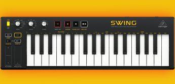 Behringer Swing, USB/MIDI-Controller Keyboard