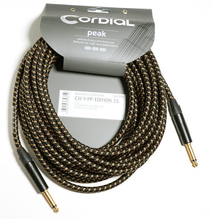 Test: Cordial CXI PP, CXI RP, CXM FM Edition 25 Kabel