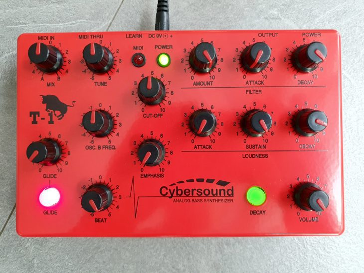 Test: Cybersound T-1 analoger Bass-Synthesizer