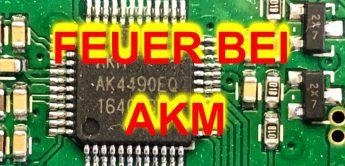 Feuer bei AKM – gravierende Auswirkungen auf die Audioindustrie