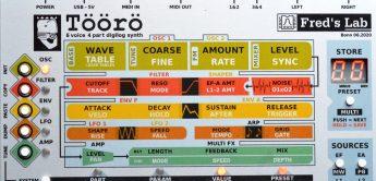 Test: Fred's Lab Töörö, polyphoner Synthesizer